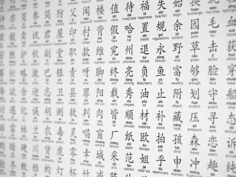 Иероглифы китайского алфавита