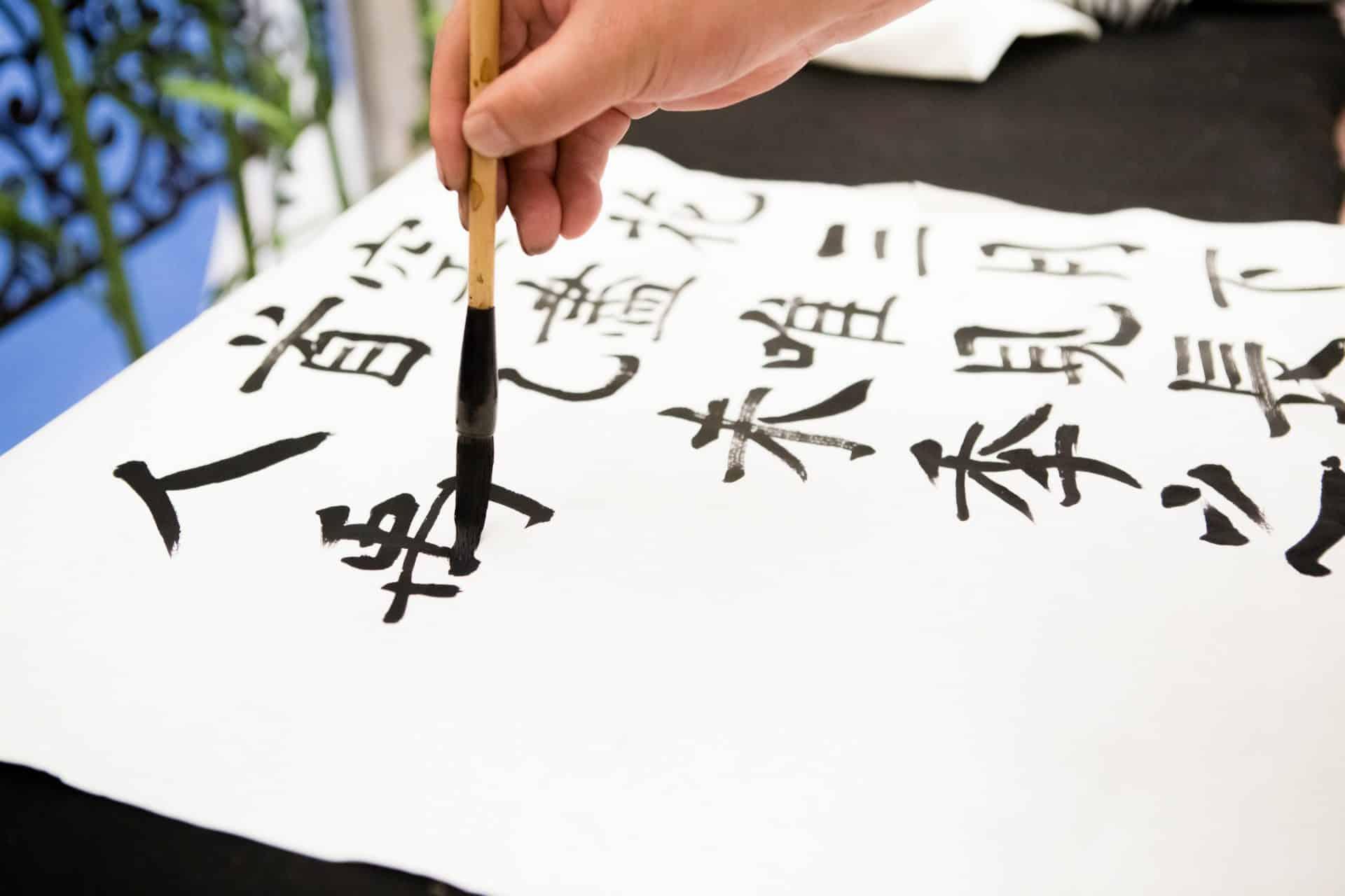 Китайские иероглифы каллиграфия